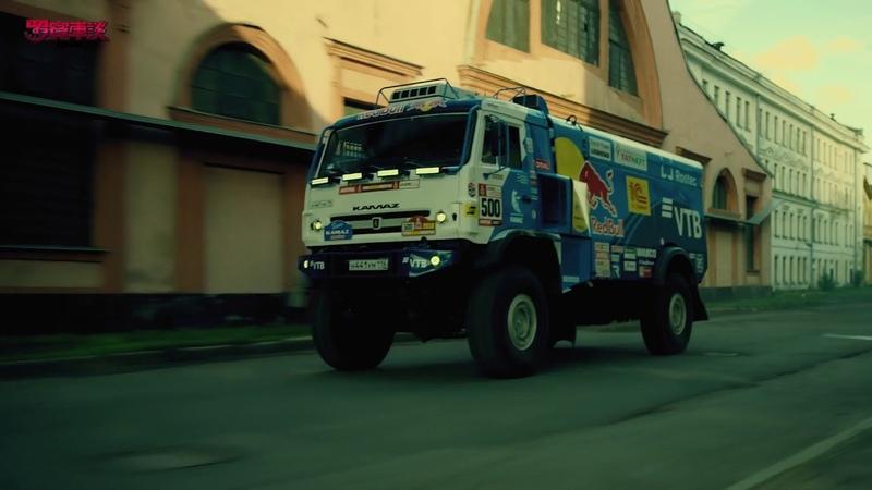 9噸KAMAZ卡車 VS Mazda RX 8 Red Bull Motorsports Robin's Car Talk 羅賓車談