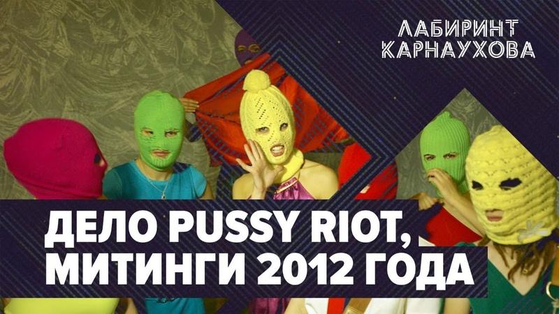 Дело Pussy Riot Митинги 2012 года Виоллета Волкова Лабиринт Карнаухова Премьера