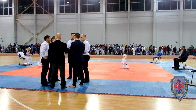 Поединок Кукулова Милена Панина Дарина АКА Чемпионат Мурманской области по Кумите 2020 oyama mas