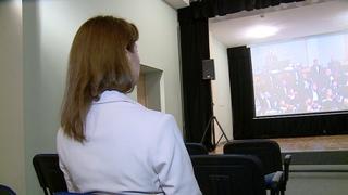 В библиотеке Горького оборудовали виртуальный концертный зал