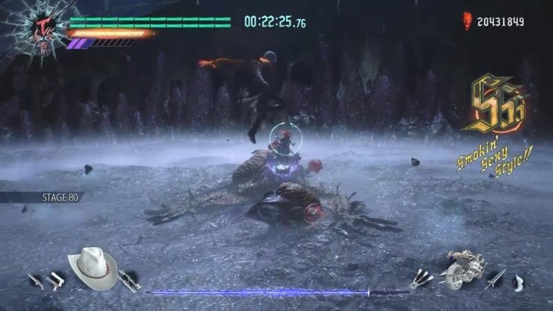 DMC5 Dante vs Malphas Bloody Palace