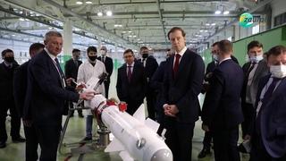 Министр промышленности и торговли РФ Денис Мантуров и полпред Владимир Якушев посетили Зауралье