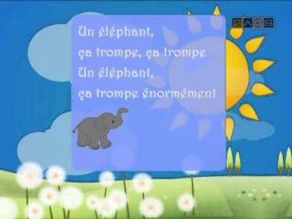 Уроки французского языка для детей . № 01