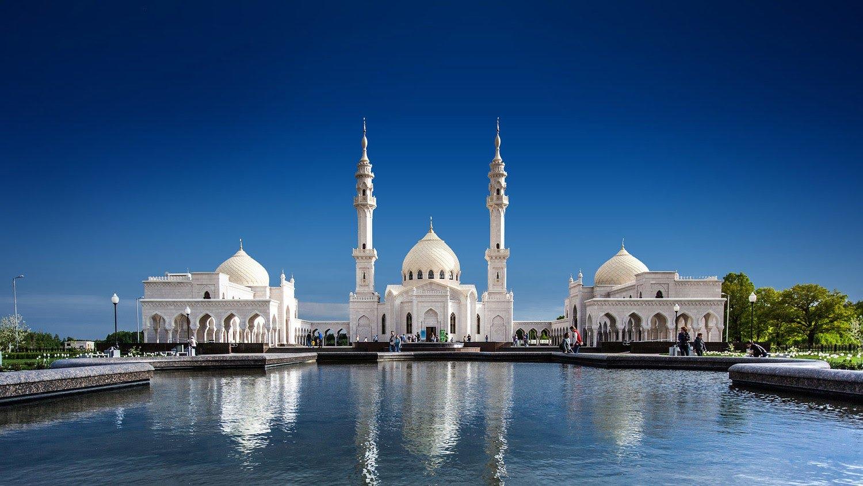 белая мечеть булгар
