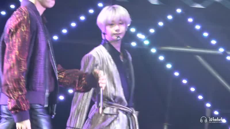Fancam 04 01 2020 G Market Concert OhMy HYUNGWON focus