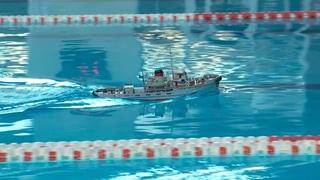 На соревнованиях по плаванию в Бийске прошли показательные выступления по судомодельному порту