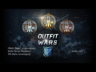 Planetside 2 Outfit Wars FRMD vs RUIN vs 1FR
