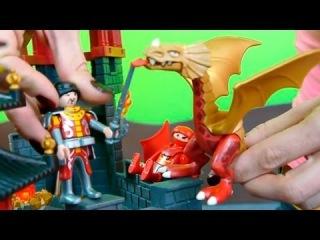Сказки и мультфильмы для детей из конструктора Playmobil