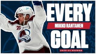 Every Mikko Rantanen Goal From The 2020-21 NHL Season