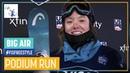 Isabel Atkin Women's Big Air Atlanta 3rd place FIS Freestyle Skiing
