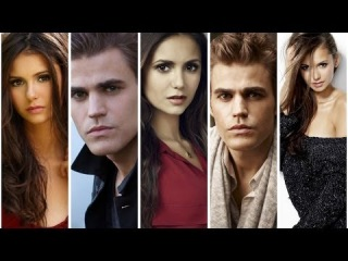 THE VAMPIRE DIARIES||ELENA AND STEFAN