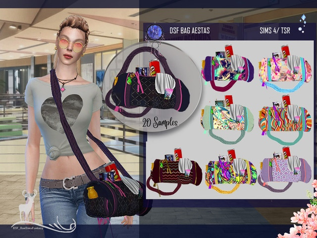 Аксессуары разные для The Sims 4