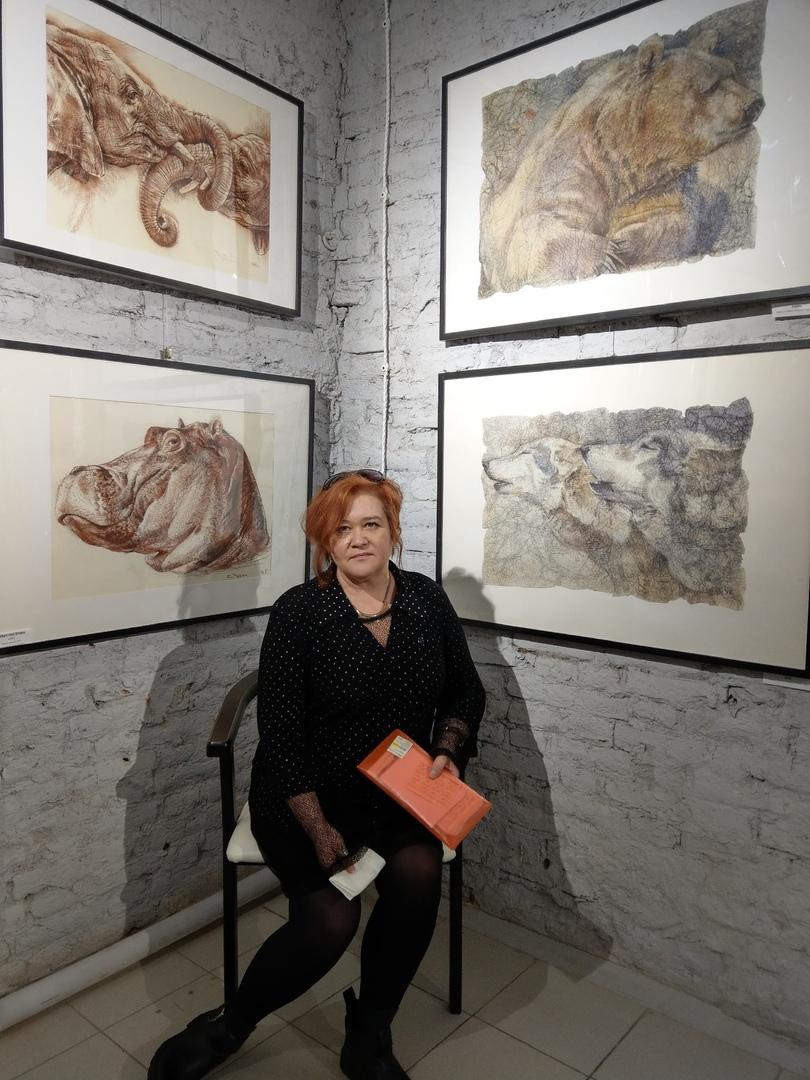 Персональная выставки Екатерины Чубич в NWA Space на Гороховой 52