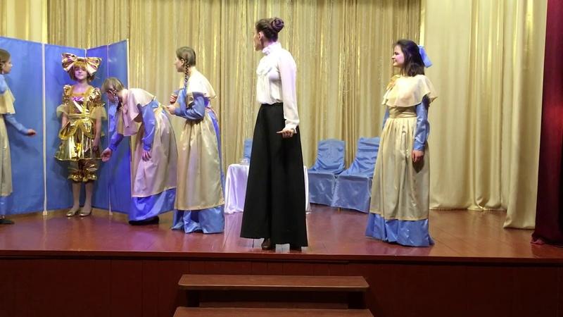 51 Образцовый коллектив Театральная студия Зазеркалье Отрывок из спектакля Принцесса Кру