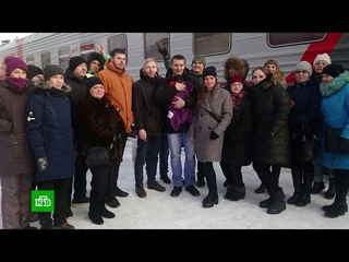 Жителям Мурманска вернули выпавшую из поезда в Петрозаводске собаку