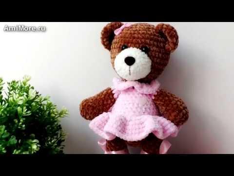 Амигуруми схема Мишки Мими Игрушки вязаные крючком Free crochet patterns смотреть онлайн без регистрации
