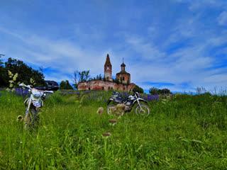 #Enduro33 Путешествие В 250км по Владимирской области на Эндуро мотоцикле.