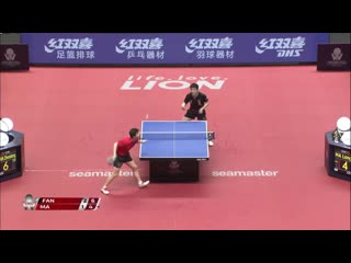 Fan Zhendong vs Ma Long | Japan Open 2019 (1/4)