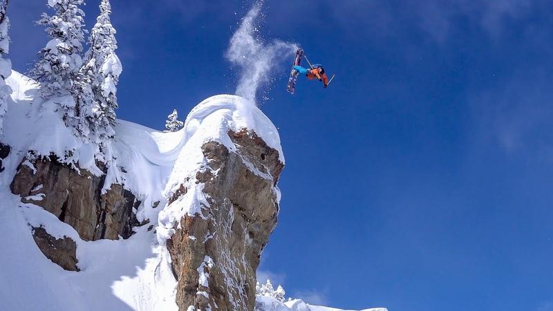 Jackson Hole Massive Air Backcountry Skiing Straight lines Couloirs O leeps