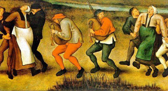 ТАНЦЕВАЛЬНАЯ ЧУМА В 1518 году Европу поразила неведомая доселе болезнь, которую стали называть танцевальная чума. Люди безо всяких на то причин принимались плясать сутки напролет, пока не