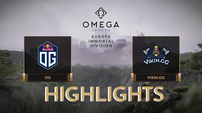 OG vs Highlights OMEGA League Europe Immortal Division
