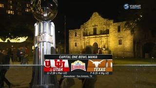 NCAAF 2019-2020, Alamo Bowl, (11) Utah Utes - Texas Longhorns, RU, Viasat Sport HD