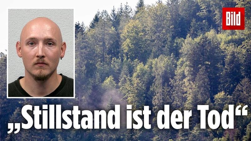 Gruseliges Manifest von Yves Rausch aufgetaucht! Wald-Rambo zitiert Grönemeyer Song | Oppenau