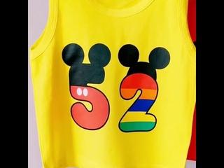 Модная одежда для маленьких мальчиков и девочек; детский летний хлопковый жилет с принтом; шорты; 2