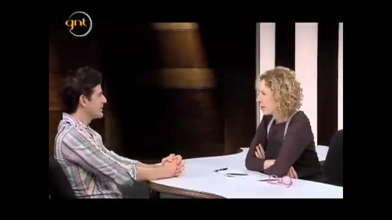 Рейналдо дает интервью Марилии Габриэле 09 12 2010