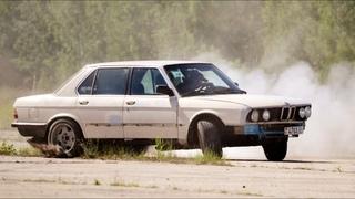 Что бывает, когда мужики психуют Дрифт на BMW