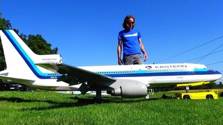 Unbelievable EASTERN Lockheed TriStar L-1011 Huge RC Turbine model Airliner