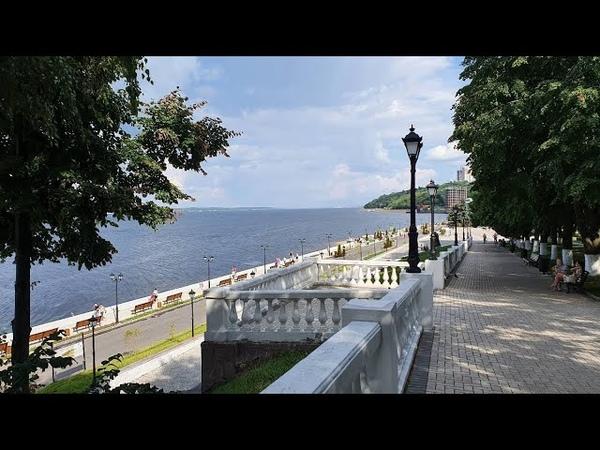 Мир перед глазами Чебоксары Часть 1 Залив Московская набережная Амазония