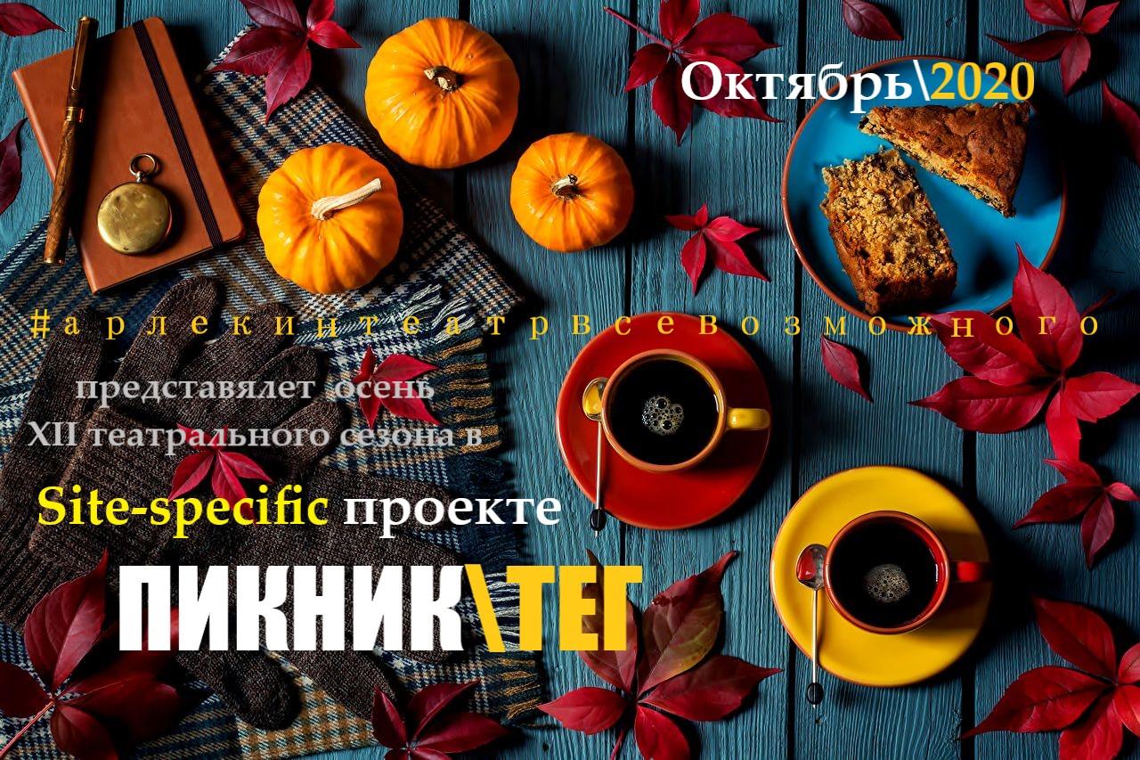 Афиша Новомосковск SITE-SPECIFIC проект ПИКНИК/ТЕГ .