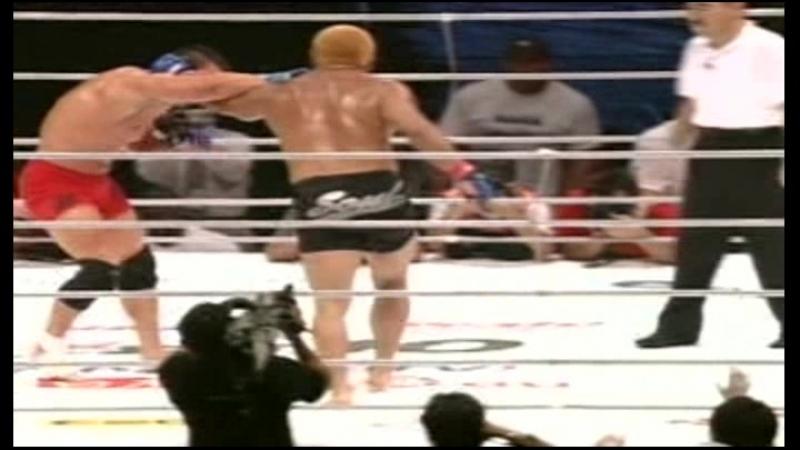 Ken Shamrock vs Kazuyuki Fujita