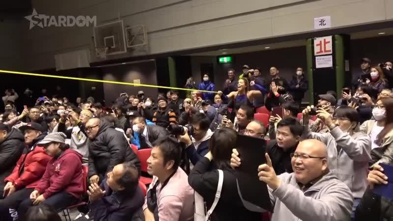 Kagetsu Mayu Iwatani vs Jungle Kyona Momo Watanabe Stardom 9th Anniversary In Osaka