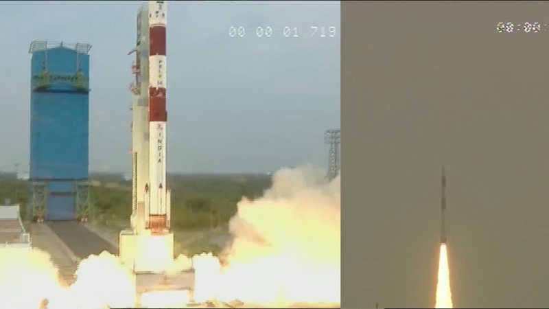 PSLV-C43 launches HysIS