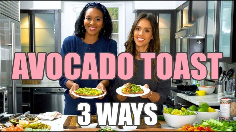 Tasty Avocado Toast 3 WAYS with Lizzy Mathis! | Jessica Alba