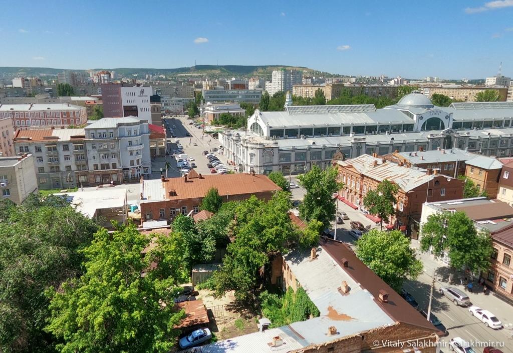 Панорама центра Саратова 2020