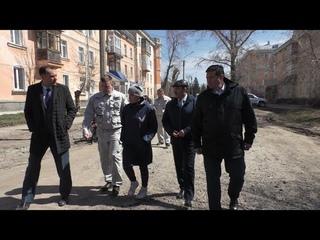 Состояние дорог в Рубцовске проверил министр транспорта Алтайского края