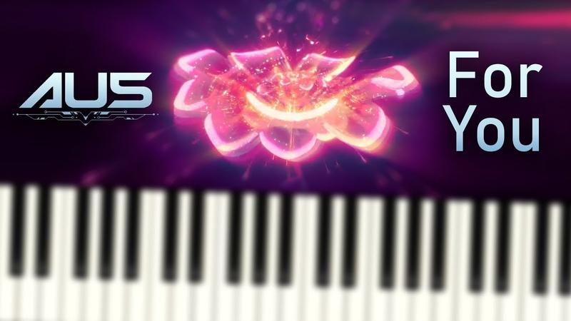 Au5 - For You - Piano Tutorial