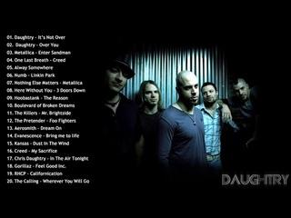 Daughtry, 3 Doors Down, Creed, Nikelback, Metallica, Scorpions - Alternative Rock Complication