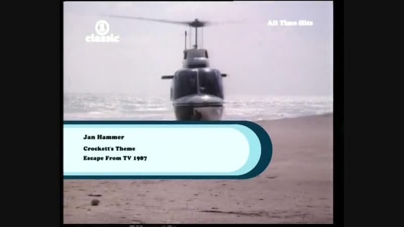 Jan Hammer Crockett`s Theme Escape from TV клип к сериалу Полиция Майами Отдел нравов Miami Vice 1987 instrumental