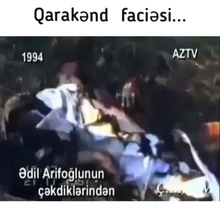 Геноцид азербайджанцев в деревне Каракенд, сотворенный армянскими террористами. Карабахская война.