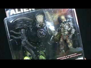NECAAlien VS PredatorToys R Us Exclusive2 Pack | Video Review