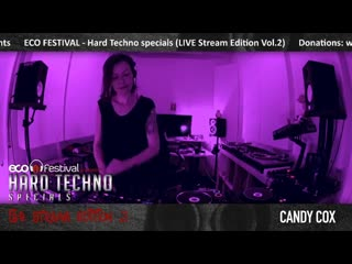 Candy Cox - Candy Cox live at ECO Festival - HTS live stream Vol. 2 (2_5)
