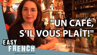 How to Order Coffee in a French Café | Super Easy French 75