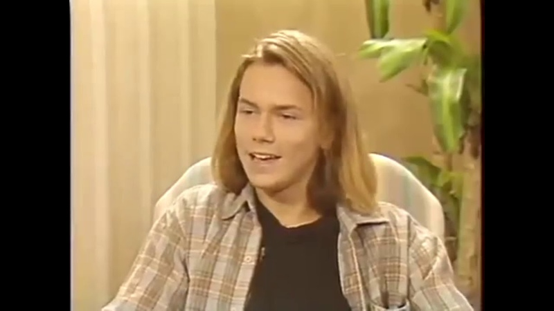 Ривер Феникс интервью на русском 1988 г