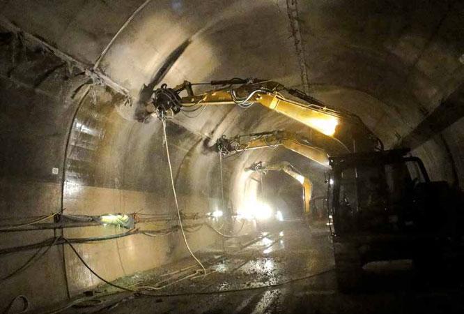 Фрезы Rockwheel для подземного строительства тоннелей