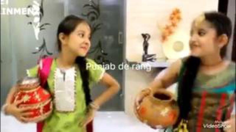 Cute Girls dancing on Paranda Song Kaur B Loded Donaliya😍