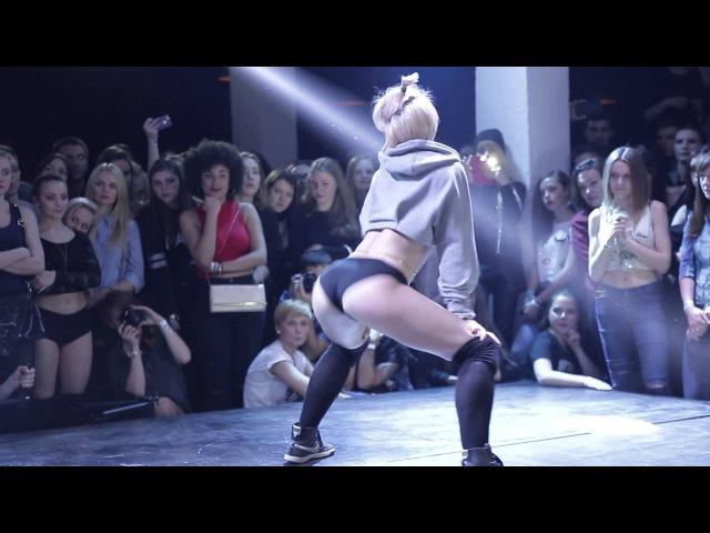 Dance Hall Battle 2016 Minsk Twerk Booty White Girl